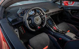 Lamborghini Huracan Evo 2019 first drive review - steering wheel