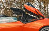 Lamborghini Huracán Spyder 2020 UK first drive review - roof folding