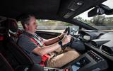 Lamborghini Huracan STO 2020 first drive review - Mike Duff driving