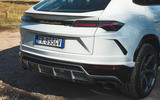 Lamborghini Urus 2018 UK first drive review rear end