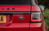 Land Rover Range Rover Sport HST 2019 UK first drive review - tailgate