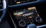 10 Land Rover Range Rover Velar PHEV 2021 UK first drive review climate controls