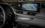 Lexus ES 300h 2018 review centre console