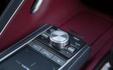 10 Lexus LC500 2021 UK FD centre console