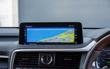 10 Lexus RX 450h L 2021 UK FD infotainment