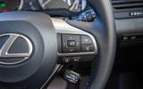 Lexus RX 450hL 2018 review wheel controls right