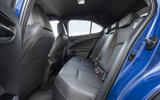 Lexus UX300e 2020 UK first drive review - rear seats