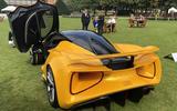 2020 Lotus Evija at Concours of Elegance - rear