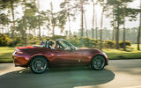 Mazda MX-5 2.0 Sport Tech 2020 UK first drive review - on the road side