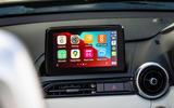 10 Mazda MX 5 Sport Venture 2021 UK FD infotainment