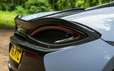 McLaren 570S Spider Track Pack 2018 UK review rear lights