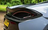 McLaren 570S Spider Track Pack 2018 UK review rear lights