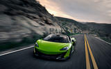 McLaren 600LT Spider 2019 first drive review - on the road