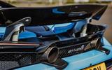 McLaren 720S Spider 2019 UK first drive - exhausts
