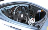 McLaren Sports Series Hybrid prototype interior