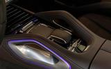 Mercedes-Benz GLS 400D 2019 first drive review - centre console