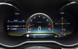 Mercedes-AMG C63 2018 first drive review instrument cluster race mode