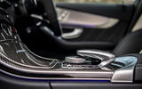 Mercedes-AMG C63 S Estate 2019 first drive review - centre console