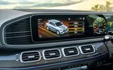 10 Mercedes AMG GLE 63S 2021 UK FD infotainment