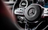 Mercedes-Benz A-Class A180D steering wheel buttons