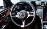 10 Mercedes Benz C Class 2021 FD steering wheel