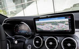 Mercedes-Benz C-Class C200 2018 review infotainment