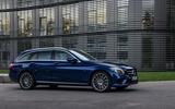 Mercedes-Benz C-Class C 300de estate 2018 first drive review - static front