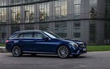 Mercedes-Benz C-Class C 300de estate 2018 first drive review - static front