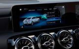 Mercedes-Benz CLA 250 2019 UK first drive review - infotainment