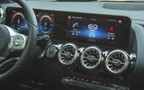 10 Mercedes Benz EQA 2021 UK first drive review instruments