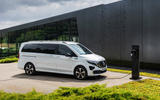 10 Mercedes Benz EQV 2021 LHD first drive review static