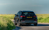 Mercedes-Benz GLA 220d 2020 UK first drive review - cornering rear