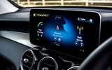 Mercedes-Benz GLC 220d 2019 UK first drive review - infotainment