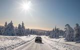 Mercedes-Benz GLC 300 2019 prototype drive - sun