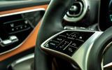 10 Mercedes C Class Estate 2021 UK LHD FD steering wheel buttons