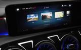 Mercedes-Benz CLA Shooting Brake 220d 2020 UK first drive review - infotainment