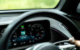 Mercedes-Benz EQC 400 2019 UK first drive review - instruments
