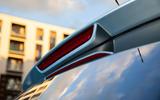 MG ZS EV 2019 UK first drive review - brake lights