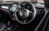 10 Mini Cooper S 2021 UK FD dashboard