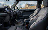 Mini Electric 2020 UK first drive review - cabin