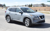 10 Nissan Rogue 2021 USA FD cornering front