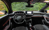Peugeot 2008 2020 first drive review - dashboard