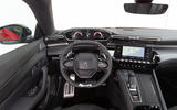Peugeot 508 2018 review dashboard