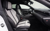 Peugeot 508 Hybrid4 2020 first drive review - front seats