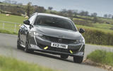 10 peugeot 508 pse 2021 uk first drive review hero front