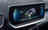 Peugeot e-2008 2020 first drive review - infotainment
