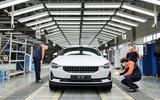 Polestar 2 Luqiao production - front