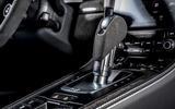 Porsche 718 Boxster GTS 4.0 PDK 2020 UK first drive review - gearstick
