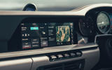 Porsche 911 Carrera 4S 2019 UK first drive review - infotainment