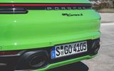 Porsche 911 Cabriolet 2019 first drive review - exhausts